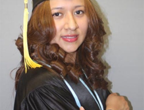 Congratulations on your graduation day Angelica