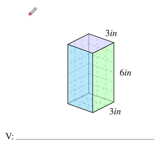 Como encontrar el volumen de un cubo para el examen de ged